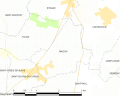 Map commune FR insee code 33280.png