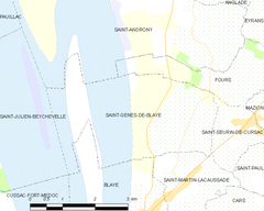 Map commune FR insee code 33405.png