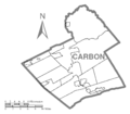 Map of Carbon County, Pennsylvania No Text.png