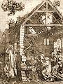 Marcantonio Raimondi (após Dürer) - A Natividade.jpg