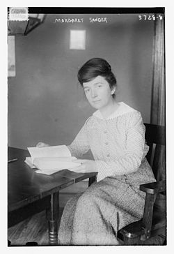 Margaret Higgins Sanger (September 14, 1879 – September 6, 1966) in 1916.jpg