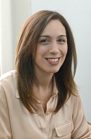 Governor of Buenos Aires Province - Image: Maria Eugenia Vidal (cropped)