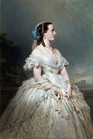Marie Henriette of Austria - Maria Hendrika of Belgium by Winterhalter