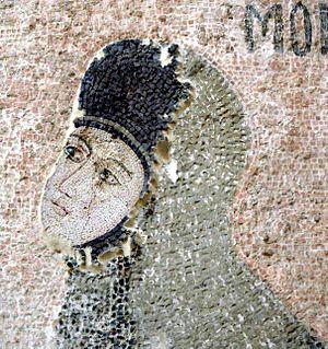 Maria Palaiologina - Maria Palaiologina, depicted in a Byzantine mosaic in Chora Church, Istanbul