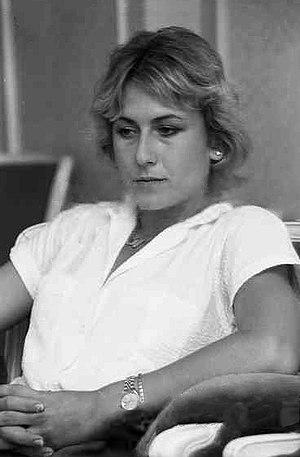 Mariana Simionescu - Simionescu in July 1980