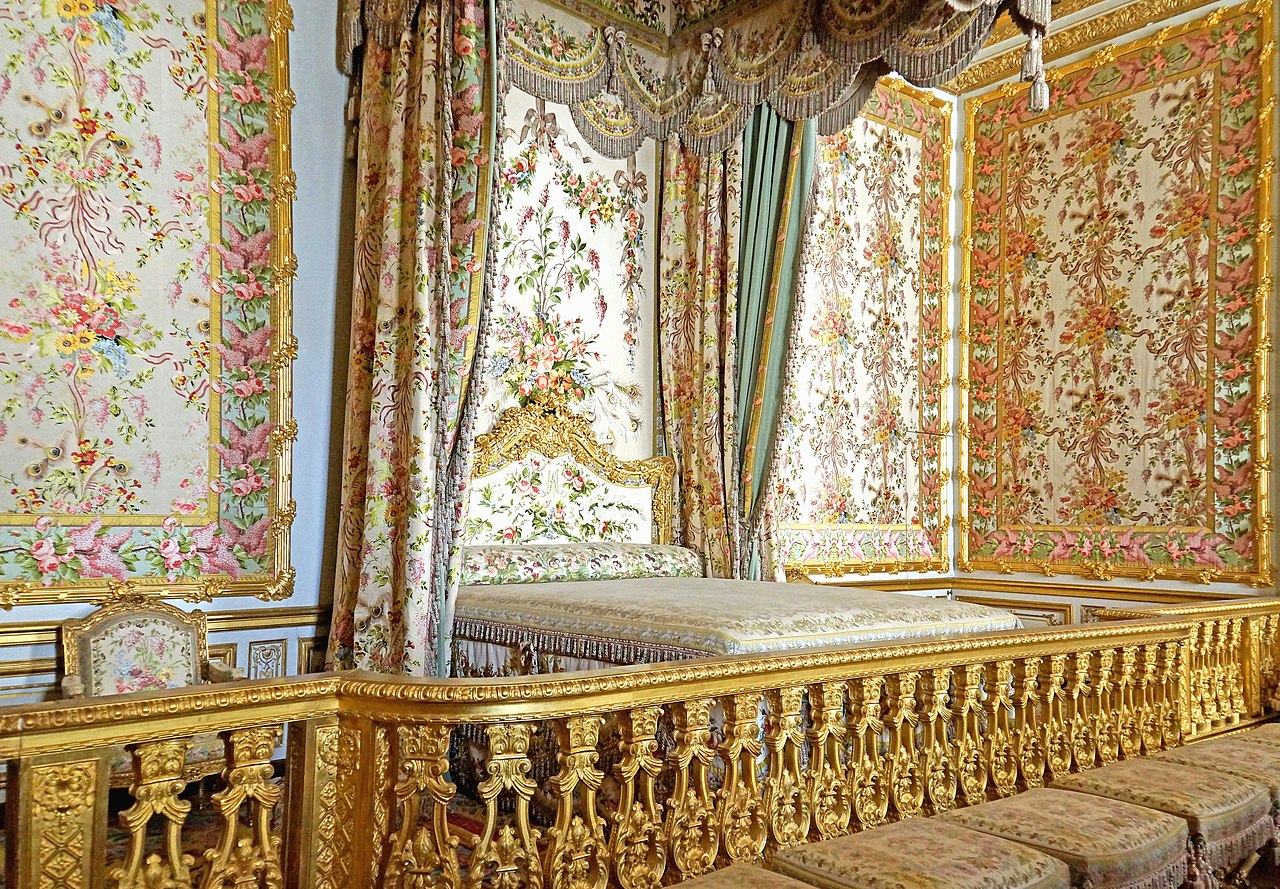 Bedroom Media Furniture File Marie Antoinette S Bedroom Versailles 22 June 2014