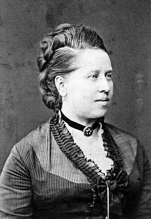 Marie Wieck - Marie Wieck, 1870 (anon)