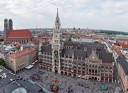 Marienplatz and New City Hall - Munich, Germany - panoramio