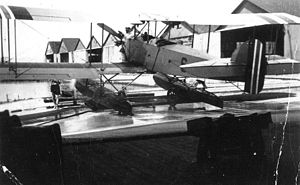Marinens Flyvebaatfabrikk M.F.8 - Rear view of an M.F.8.