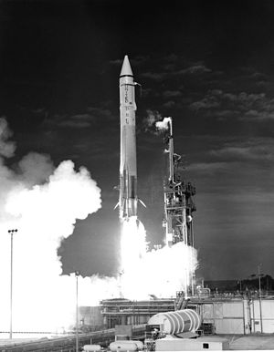 Atlas SLV-3 - Mariner 7 launch by an Atlas-SLV-3C