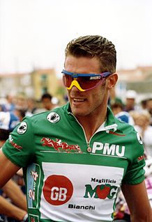 Mario Cipollini Italian cyclist