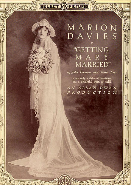 Getting Mary Married, 1919