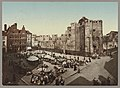 Market square by the Chateau des Comtes in Ghent, Belgium LCCN2006688000.jpg