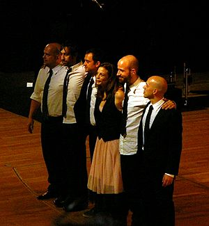 Marlango - The band (Murcia - 01/19/08)