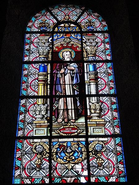 Maroilles (Nord, Fr) église vitrail 12 apôtres 04