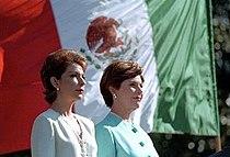 Marta Sahagun and Laura Bush.jpg