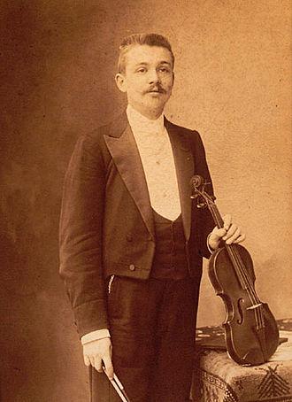 Henri Marteau - Henri Marteau pictured by Nadar