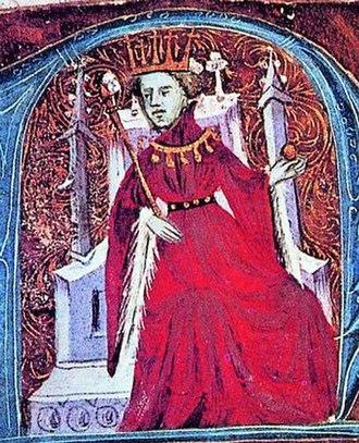 Frederic, Count of Luna - King Martin the Elder