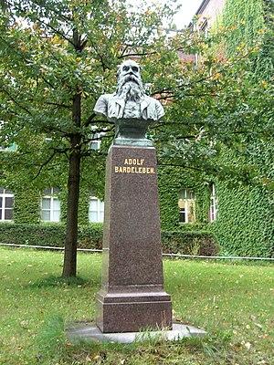 Heinrich Adolf von Bardeleben - Monument to Bardeleben in Berlin
