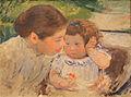 Mary Cassatt - Susan Comforting the Baby No. 1 (c. 1881) 01.JPG