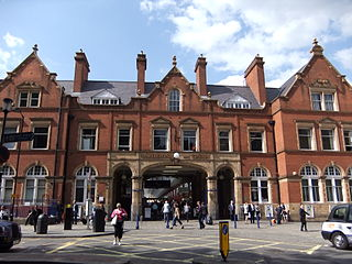 Marylebone station London Underground and railway station