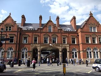 Great Central Railway - Marylebone station. The London terminus of the Great Central Railway.