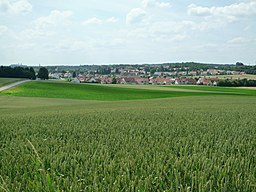 view over Marzling, Germany