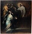 Mastelletta, dodici storie sacre, s. antonio abate benedice un bambino morto, 1611-12, da s. francesco.jpg