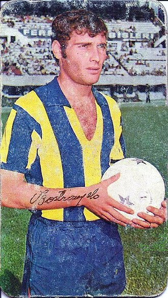 Ernesto Mastrángelo - Mastrángelo when playing for Atlanta, c. 1968
