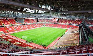 Otkrytiye Arena - Otkrytiye Arena inside