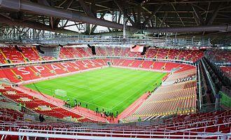 Otkritie Arena - Otkrytiye Arena inside