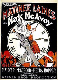 <i>Matinee Ladies</i> 1927 film by Byron Haskin