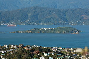 Matiu / Somes Island - Matiu/Somes Island as seen from Mount Kaukau