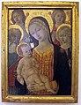 Matteo di giovanni, madonna col bambino, due angeli e i santi girolamo e margherita d'antiochia, 1477-1482 ca., da s. eugentia fuori posta pispini.JPG