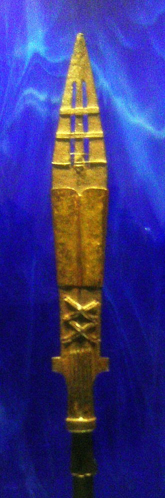 Polish Crown Jewels - Polish replica of the Holy Lance, Wawel Cathedral Treasury