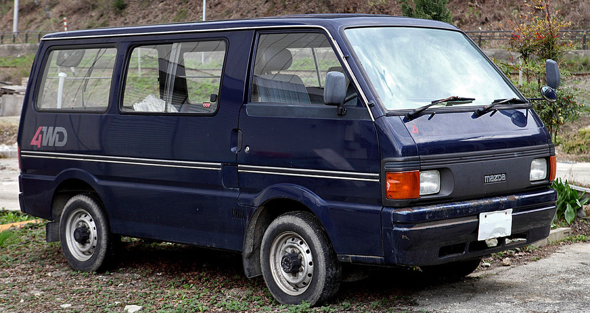 Px Mazda Bongo on 1997 Ford Ranger 4x4