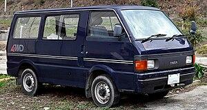 Mazda Bongo - Image: Mazda Bongo 301