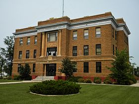 McPherson County Courthouse NRHP 86003020 McPherson County, SD.jpg