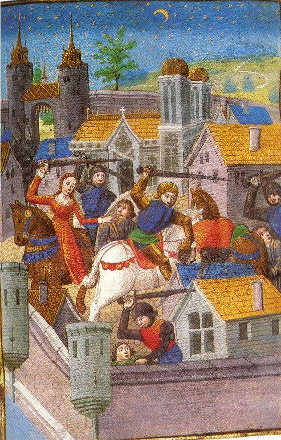 Medieval women as warriors