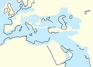 Oligocene - Neotethys in oligocene (Rupelian, 33,9 — 28,4 mya)