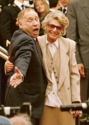 Mel Brooks Anne Bancroft 1991