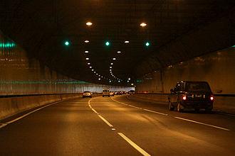 EastLink (Melbourne) - Inside the Melba (westbound) tunnel
