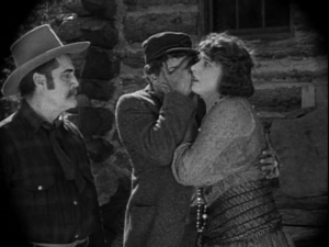 Melbourne MacDowell - Melbourne MacDowell (left) with Lon Chaney and Betty Blythe in Nomads of the North