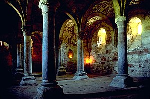 Crypta of cloister Memleben