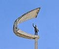 Memorial J Kubitschek Brasilia statue.jpg