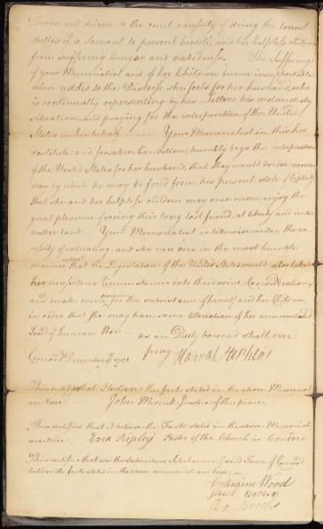 File:Memorial from Hannah Stephens requesting the release of her husband from prison in Algiers.djvu