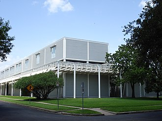 Dominique de Menil - Southeast corner of the Menil Collection, Houston
