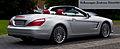 Mercedes-Benz SL 350 (R 231) – Heckansicht geöffnet, 22. Mai 2013, Düsseldorf.jpg
