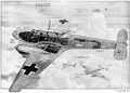 Messerschmitt Bf 110C fighter cutaway drawing, 1941 (44266186).png