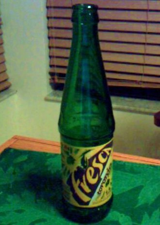 Fresca - 2006 Mexican glass Fresca bottle (355 ml)